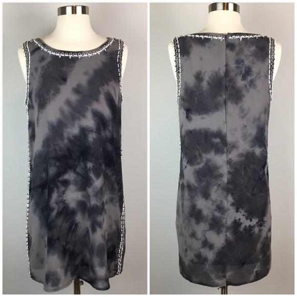 Forever 21 Dresses & Skirts - Forever 21 Tye Dye Sequenced Grey Dress